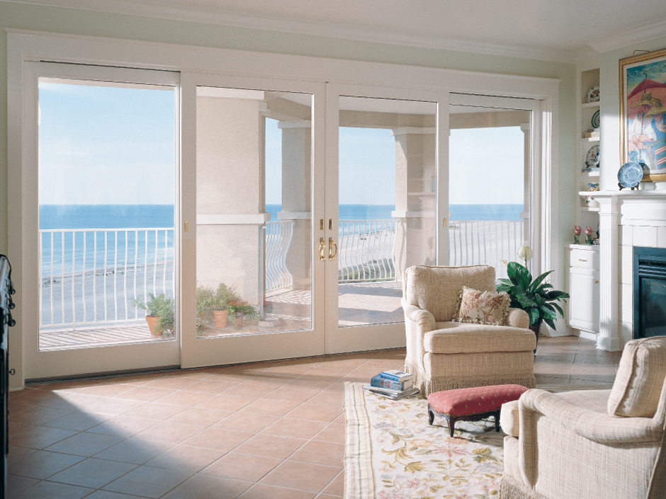 Patio doors philadelphia pa best sliding hinged patio for Anderson vinyl windows