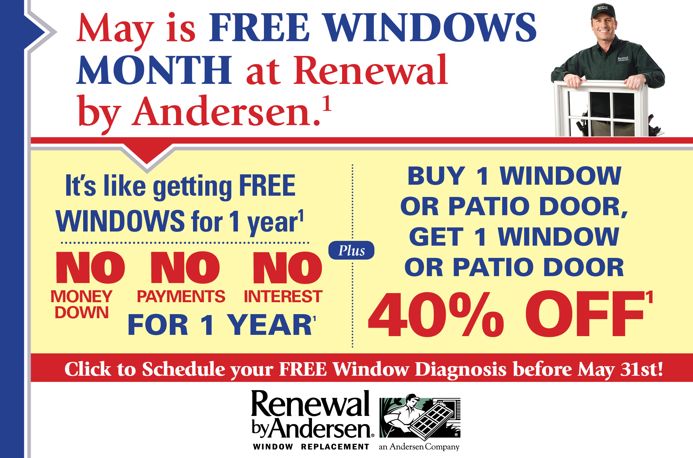 replacement window sale may 2017