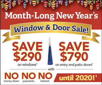 january 2019 replacement window sale